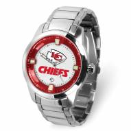 Kansas City Chiefs Titan Steel Men's Watch