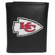 Kansas City Chiefs Large Logo Leather Tri-fold Wallet