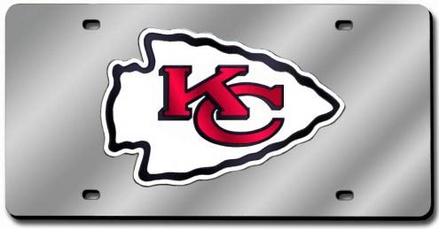 Kansas City Chiefs Laser Cut License Plate