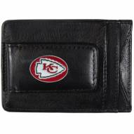 Kansas City Chiefs Leather Cash & Cardholder