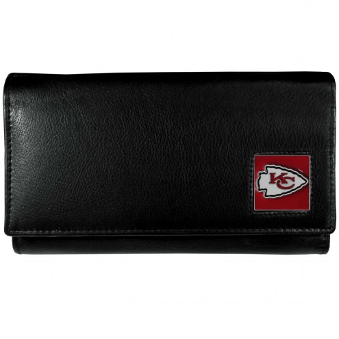 Kansas City Chiefs Leather Women's Wallet