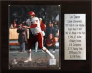 "Kansas City Chiefs Len Dawson 12"" x 15"" Career Stat Plaque"