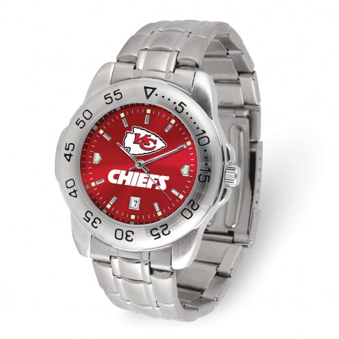 Kansas City Chiefs Sport Steel Men's Watch