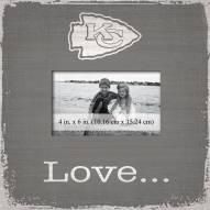 Kansas City Chiefs Love Picture Frame