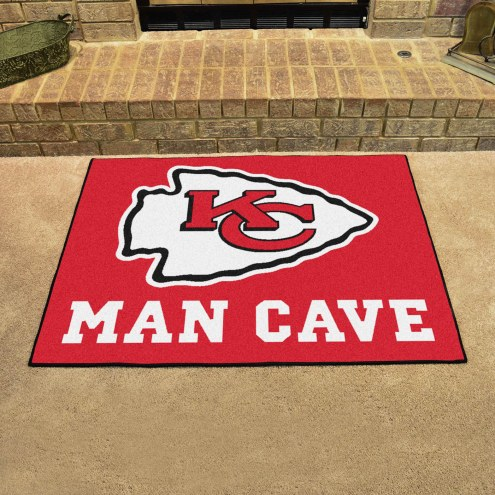 Kansas City Chiefs Man Cave All-Star Rug