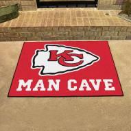 Kansas City Chiefs Man Cave All-Star Rug