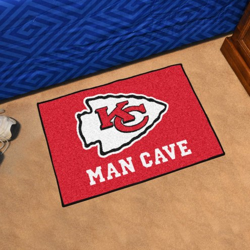 Kansas City Chiefs Man Cave Starter Mat