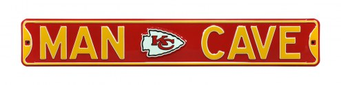 Kansas City Chiefs Man Cave Street Sign