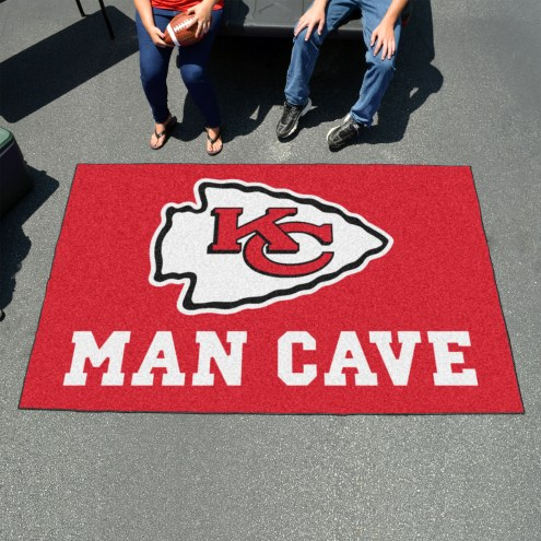 Kansas City Chiefs Man Cave Ulti-Mat Rug