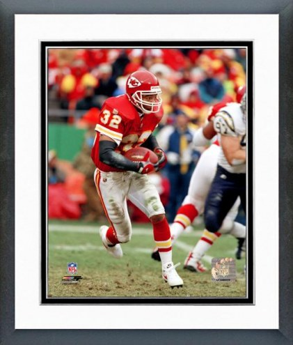 Kansas City Chiefs Marcus Allen - With ball Framed Photo