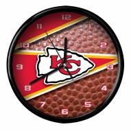 Kansas City Chiefs Football Clock