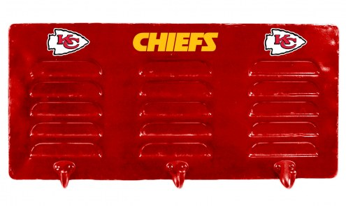 Kansas City Chiefs Metal Coat Rack