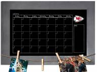 Kansas City Chiefs Monthly Chalkboard with Frame