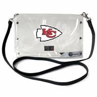 Kansas City Chiefs Clear Envelope Purse