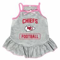 Kansas City Chiefs NFL Gray Dog Dress