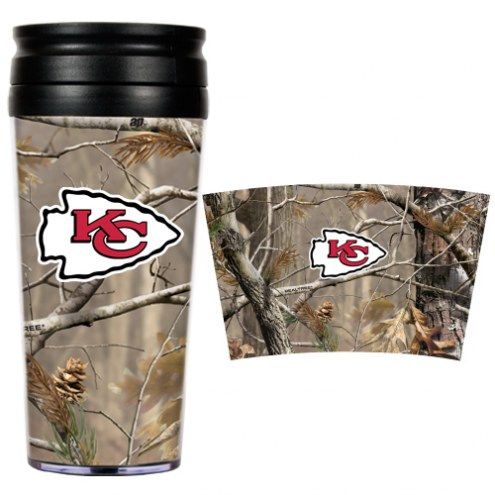Kansas City Chiefs NFL RealTree Camo Coffee Mug Tumbler