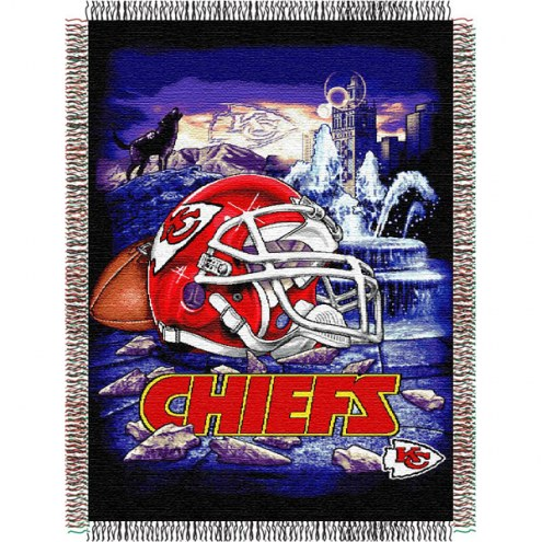 Kansas City Chiefs NFL Woven Tapestry Throw