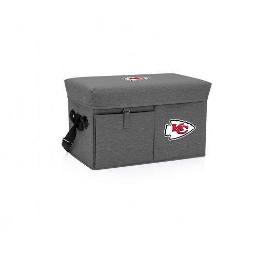 Kansas City Chiefs Ottoman Cooler & Seat