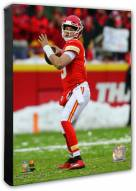 Kansas City Chiefs Patrick Mahomes 2018 AFC Divisional Playoff Game Photo