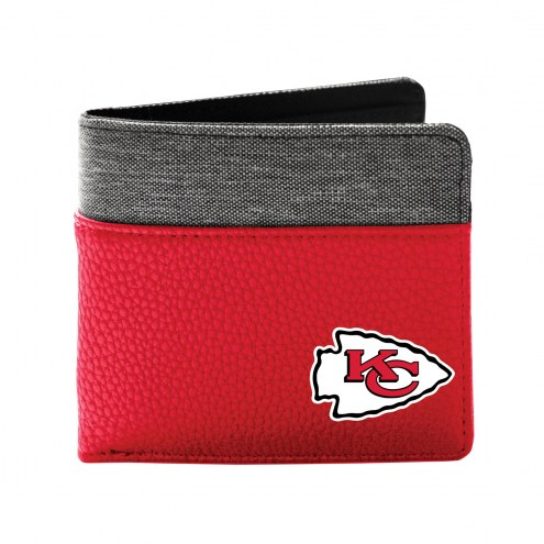Kansas City Chiefs Pebble Bi-Fold Wallet