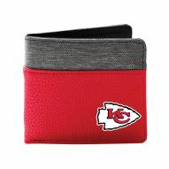 Kansas City Chiefs Pebble Bi-Fold Wallet