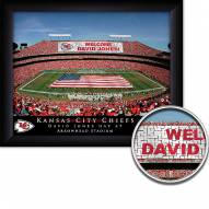 Kansas City Chiefs 11 x 14 Personalized Framed Stadium Print