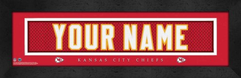 Kansas City Chiefs Personalized Stitched Jersey Print