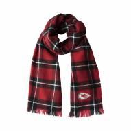Kansas City Chiefs Plaid Blanket Scarf