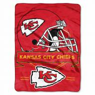 Kansas City Chiefs Prestige Raschel Blanket