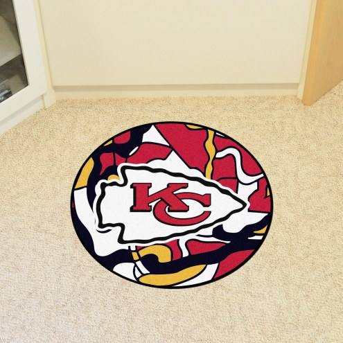 Kansas City Chiefs Quicksnap Rounded Mat