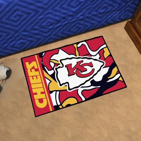 Kansas City Chiefs Quicksnap Starter Rug