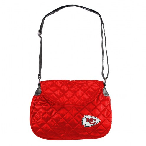 Kansas City Chiefs Quilted Saddle Bag