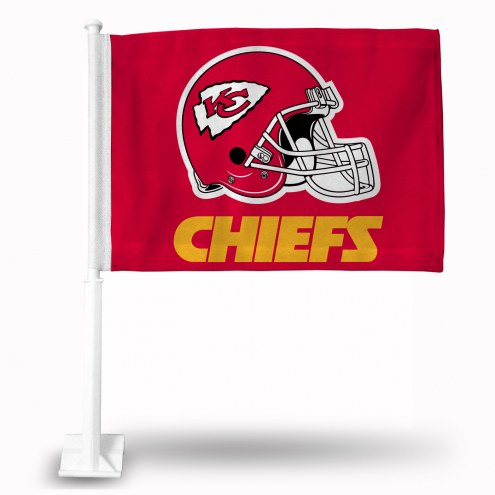 Kansas City Chiefs Red Car Flag