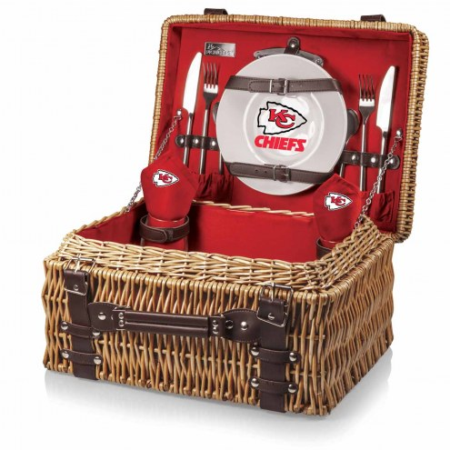 Kansas City Chiefs Red Champion Picnic Basket