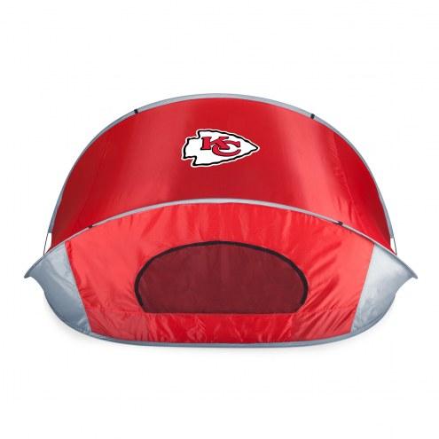 Kansas City Chiefs Red Manta Sun Shelter