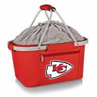 Kansas City Chiefs Red Metro Picnic Basket