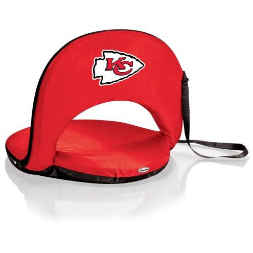 Kansas City Chiefs Red Oniva Beach Chair