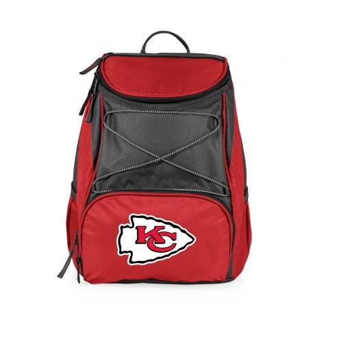 Kansas City Chiefs Red PTX Backpack Cooler