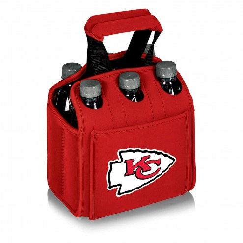 Kansas City Chiefs Red Six Pack Cooler Tote