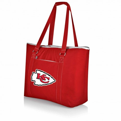 Kansas City Chiefs Red Tahoe Beach Bag