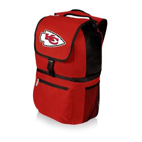 Kansas City Chiefs Red Zuma Cooler Backpack
