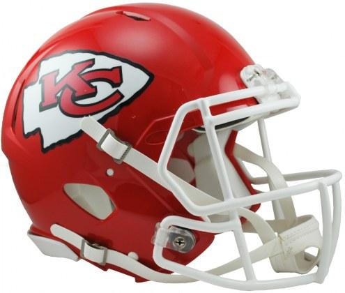 Kansas City Chiefs Riddell Speed Full Size Authentic Football Helmet