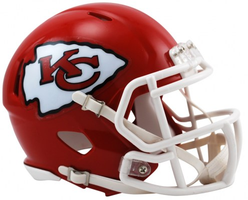 Kansas City Chiefs Riddell Speed Mini Collectible Football Helmet