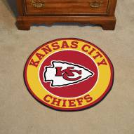 Kansas City Chiefs Rounded Mat