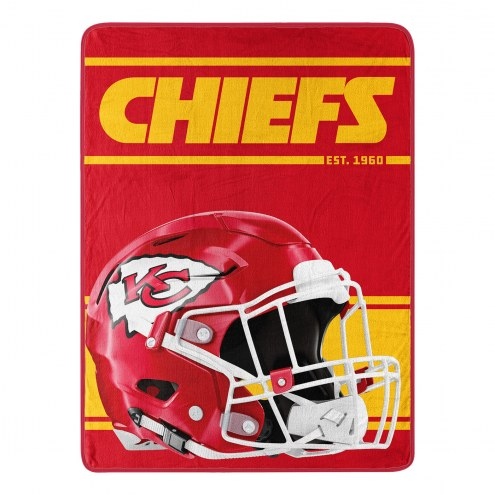 Kansas City Chiefs Run Raschel Blanket