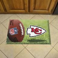Kansas City Chiefs Scraper Door Mat