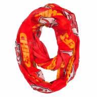 Kansas City Chiefs Sheer Infinity Scarf