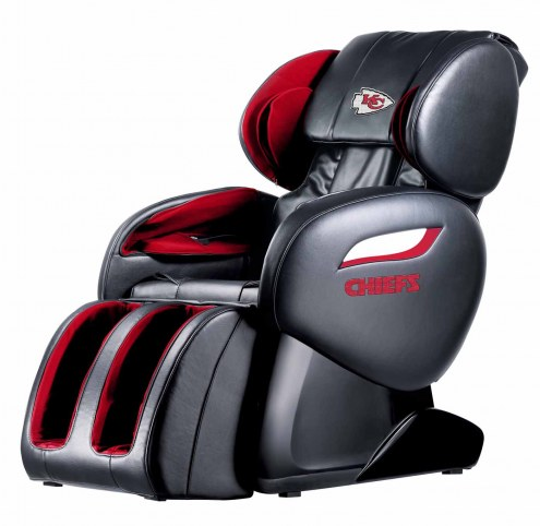 Kansas City Chiefs Shiatsu Zero Gravity Massage Chair