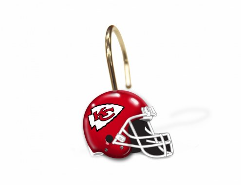 Kansas City Chiefs Shower Curtain Rings