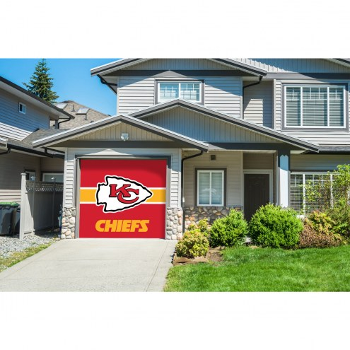 Kansas City Chiefs Single Garage Door Cover